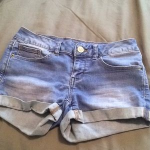 blue jean shorts from SO
